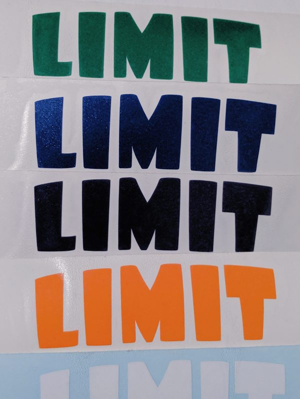 Limit Break Decal Color Variations