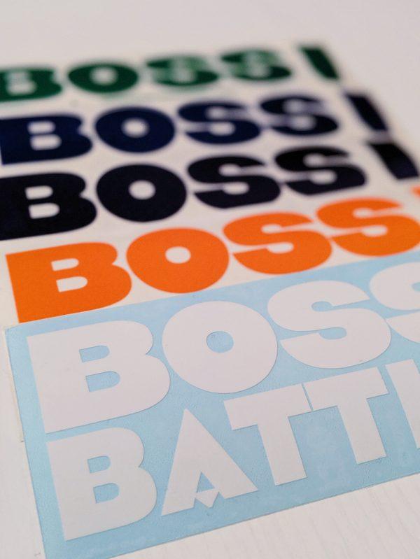 Boss Battle! color variations