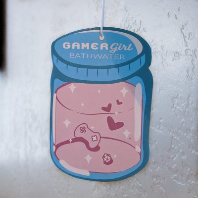 Gamer Girl Bathwater Air Freshener