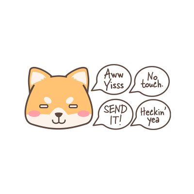 Drift Doge Sticker Pack – Series 7